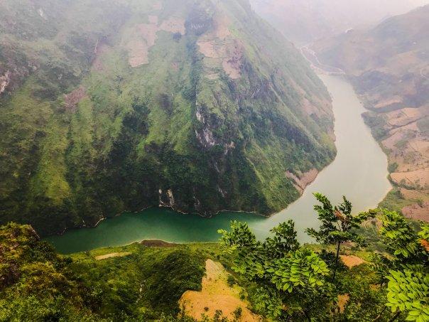 Dòng sông Nho Quế từ một góc khác